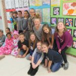 East York Elementary Students Visit the Demuth Museum