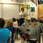Pilot Shares Unique Weather Perspective with Sixth Graders