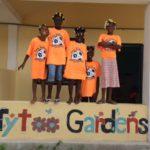 Girls Soccer Donates T-Shirts to Haiti Team