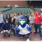 Puzzle Partners Attend Baseball in Education Day
