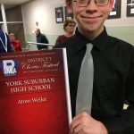 Weiler Performs in District Chorus Festival