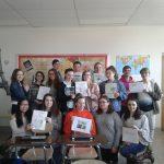 Students Write Books for Haiti