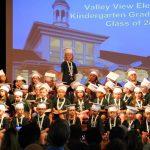 Kindergarteners Celebrate Graduation