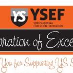 YSEF Thanks Celebration Sponsors