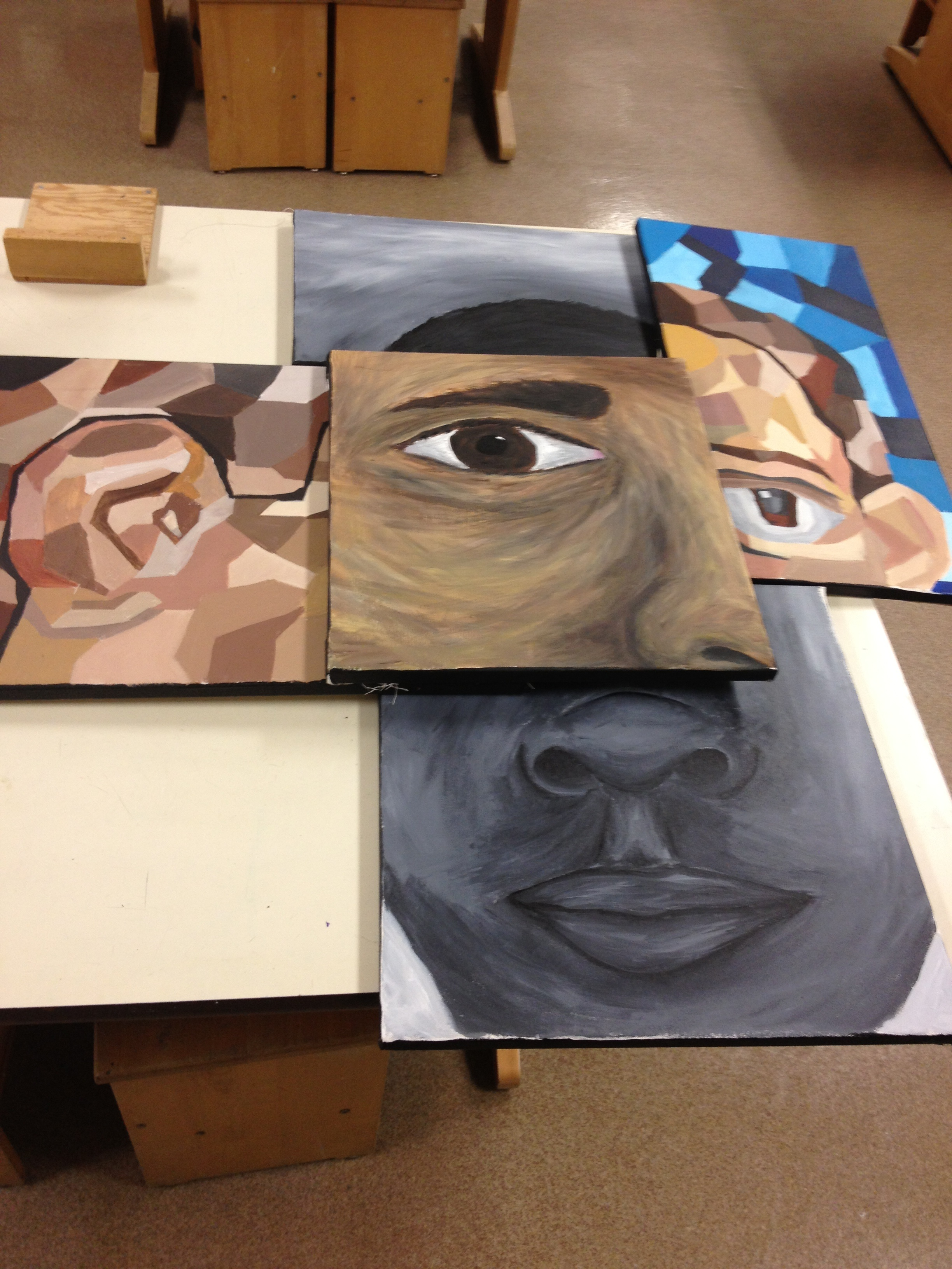 Art Portfolio Show Displays Student's Hard Work